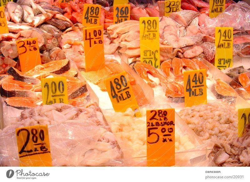 Sushi! frisch Fischmarkt Wochenmarkt New York City Chinatown USA