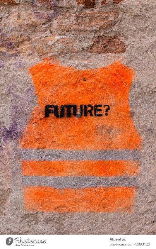 ??? Venedig Italien Stadt Hafenstadt Altstadt Mauer Wand orange Vorfreude Verantwortung achtsam Neugier Glaube Angst Endzeitstimmung Fortschritt bedrohlich