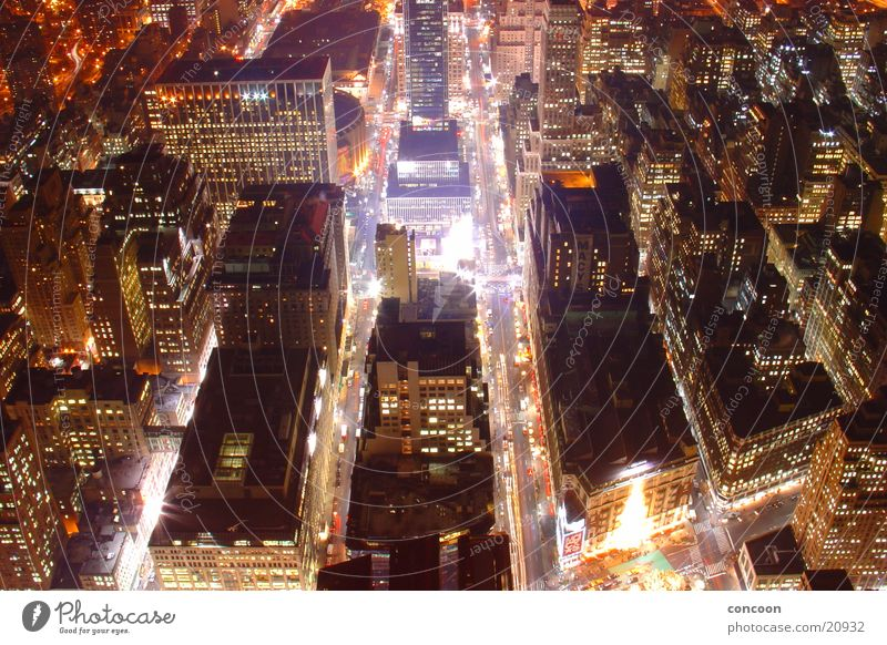 New York City Power // Kraft Haus Straße Architektur Energiewirtschaft USA Empire State Building
