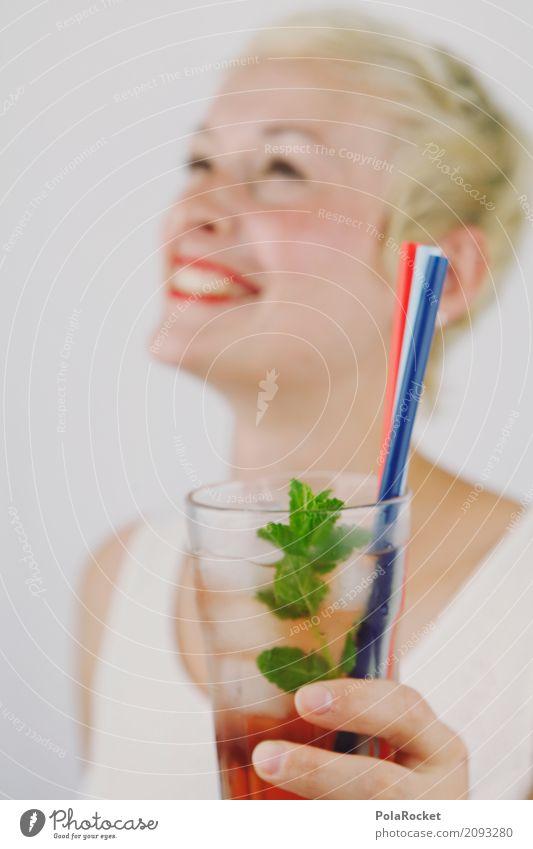 #A# Cheers! Kunst Kunstwerk ästhetisch Frau Party Partygast Partystimmung Partynacht Partyservice blond Lippen Cocktail Cocktailbar Cocktailglas lachen Freude