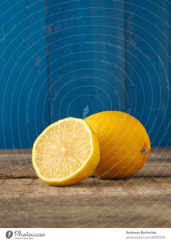 Frische Zitrone Frucht Ernährung Saft sauer gelb bio citrus diet food fresh fruit harvest healthy ingredient lemon organic raw ripe slice sour table