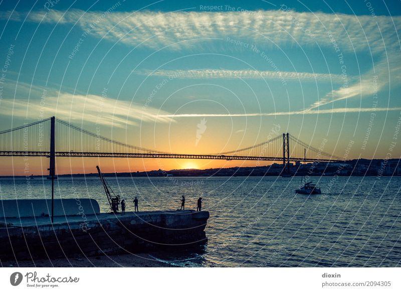 arialva sunset -2- Ferien & Urlaub & Reisen Tourismus Abenteuer Ferne Freiheit Sightseeing Städtereise Sommer Sommerurlaub Sonne Lissabon Portugal Europa Stadt