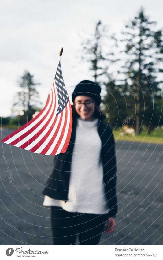 Roadtrip West Coast USA (305) feminin Junge Frau Jugendliche Erwachsene 1 Mensch 18-30 Jahre 30-45 Jahre Tourismus Reisefotografie Ferien & Urlaub & Reisen