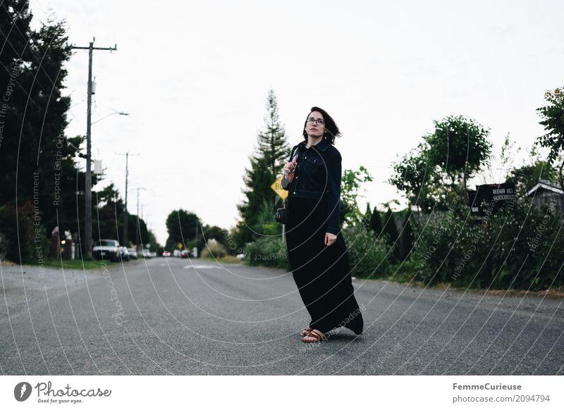 Roadtrip West Coast USA (314) feminin Junge Frau Jugendliche Erwachsene Mensch 18-30 Jahre 30-45 Jahre Ferien & Urlaub & Reisen Spaziergang Seattle Westküste