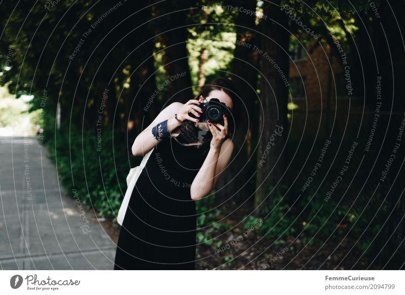 Roadtrip West Coast USA (103) feminin Junge Frau Jugendliche Erwachsene Mensch 18-30 Jahre 30-45 Jahre Freizeit & Hobby Fotograf Fotografie Spiegelreflexkamera