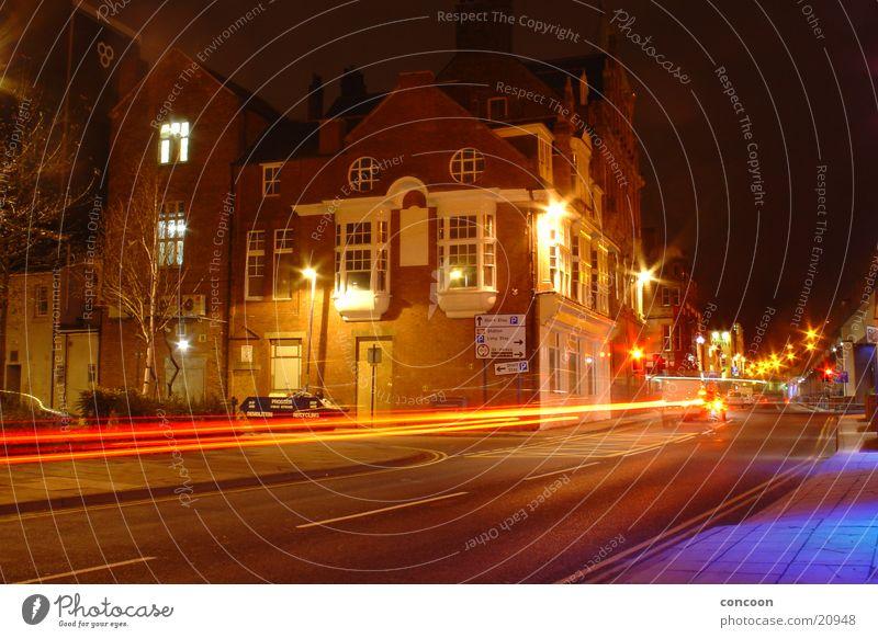 In den Strassen von Middlesbrough // Rush England Großbritannien Europa Straße Industriefotografie Licht PKW Geschwindigkeit Teesside North East England