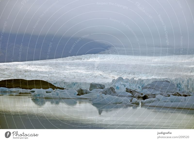 Island Natur Wasser Einsamkeit kalt Berge u. Gebirge Landschaft Umwelt Stimmung See Eis Klima wild Frost außergewöhnlich Hügel Idylle