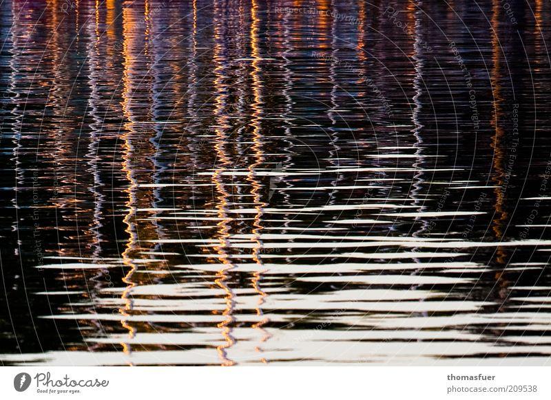 Über allen Wassern ist Ruh ;) Meer Sommer Farbe Bewegung träumen Wellen Perspektive ästhetisch Kreativität bizarr Schönes Wetter Segelboot Spiegelbild Jacht