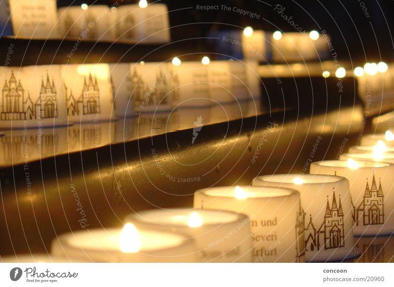 Candelae ruhig Religion & Glaube Kerze Freizeit & Hobby Gebet Dom Kathedrale Thüringen Erfurt