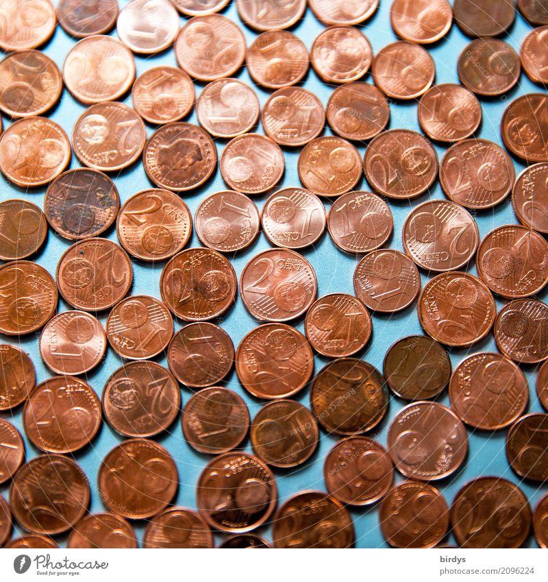 1-und 2 Centmünzen Business Metall glänzend rund Geld viele Tradition Stress Gesellschaft (Soziologie) Handel Nostalgie Politik & Staat sparen Kapitalwirtschaft