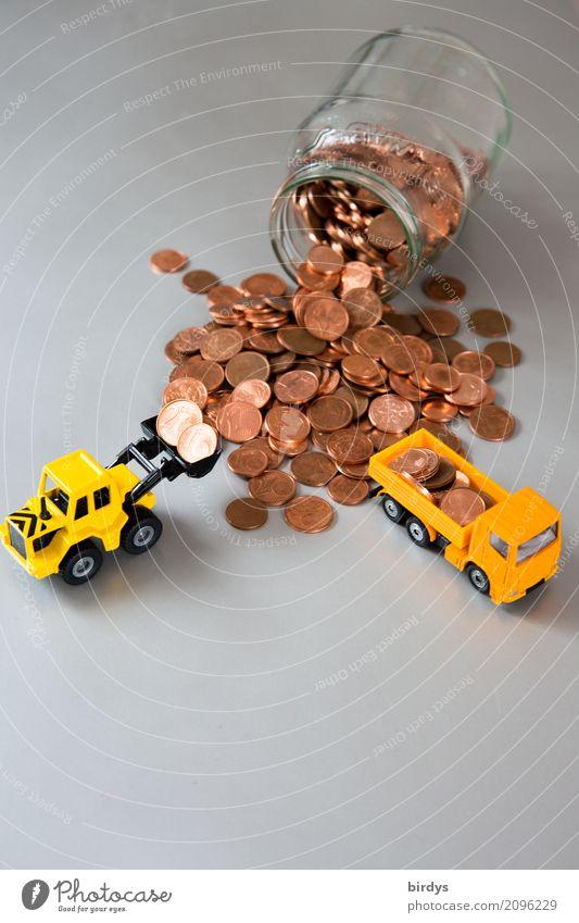 überflüssig rot gelb 1 grau Arbeit & Erwerbstätigkeit Metall 2 Glas Geld Ziffern & Zahlen Symbole & Metaphern Geldinstitut Mut nachhaltig