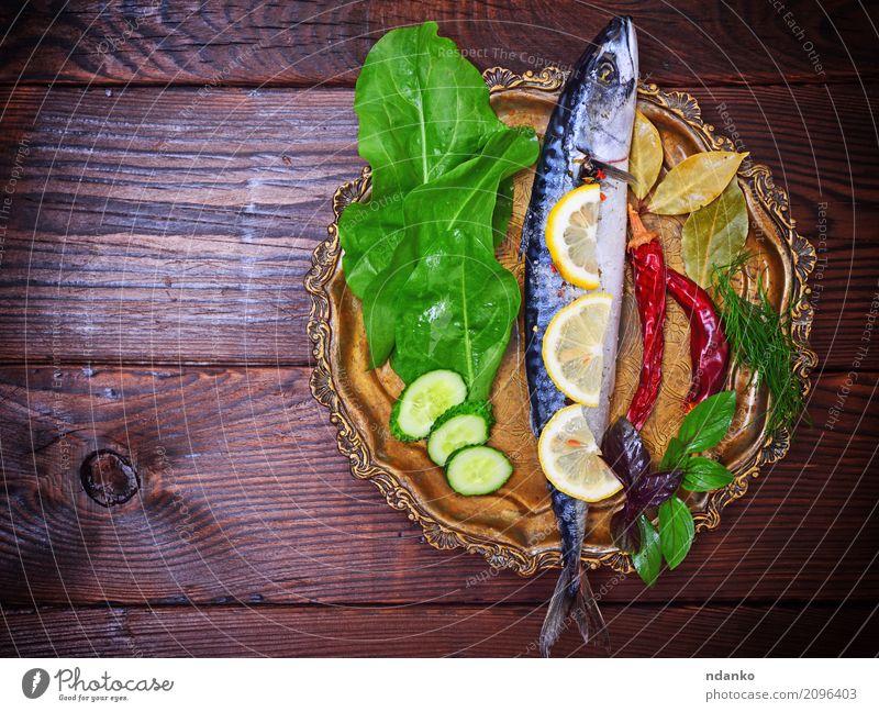 Natur nackt grün Meer Tier dunkel schwarz Essen natürlich Holz Ernährung frisch Tisch Kräuter & Gewürze Gastronomie Restaurant
