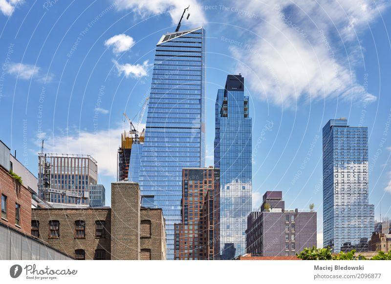 Midtown New York. Himmel Sommer Stadt Architektur Gebäude Wohnung Büro Hochhaus USA Skyline Manhattan Entwicklung Großstadt