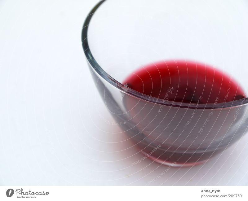 Kirschsaft rot Farbe Getränk süß Flüssigkeit Bildausschnitt Schalen & Schüsseln Anschnitt saftig Saft Erfrischungsgetränk Ernährung Foodfotografie fruchtig