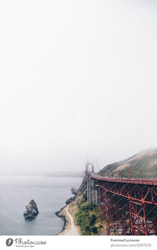 Roadtrip West Coast USA (136) Ferien & Urlaub & Reisen Wolken Tourismus Verkehr Nebel Aussicht Sehenswürdigkeit Verkehrswege Personenverkehr Autofahren