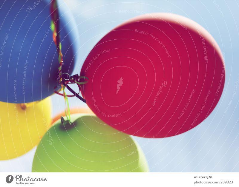Up. grün blau rot gelb fliegen ästhetisch Luftballon Dekoration & Verzierung 4 Kreativität Idee Schweben gestalten Schriftzeichen Eröffnung