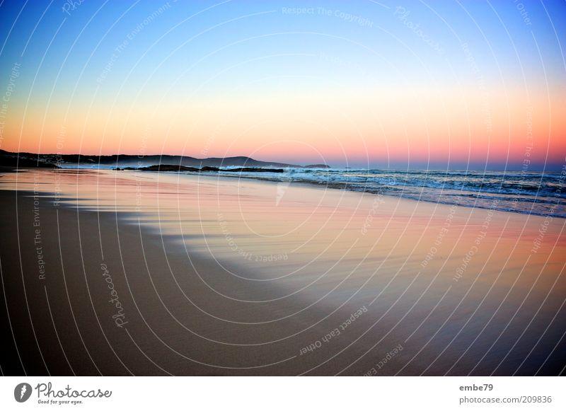 One Mile Beach Natur Wasser Himmel blau Strand Ferne gelb Sand Landschaft braun Erde Küste Wellen Umwelt Sonnenaufgang Reisefotografie
