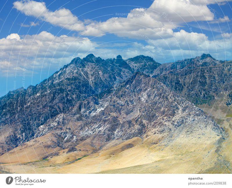 Sierra Nevada Berge schön Ferien & Urlaub & Reisen Sommer Berge u. Gebirge Umwelt Natur Landschaft Himmel Wolken Hügel Felsen Gipfel Bekanntheit Ferne hoch