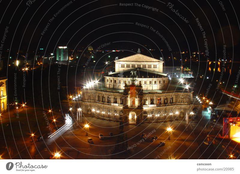 Semperoper Dresden Kunst Architektur Europa Kultur Opernhaus Sachsen Renaissance