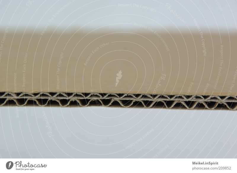Das ist die perfekte Welle... Papier Verpackung Karton dick gut stark Ordnung Präzision Qualität Wellenlinie Wellenform doppelt gemoppelt Stabilität