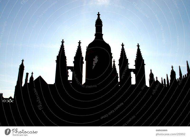 King's College Cambridge, England alt Architektur Studium Tradition Großbritannien Indien Taj Mahal