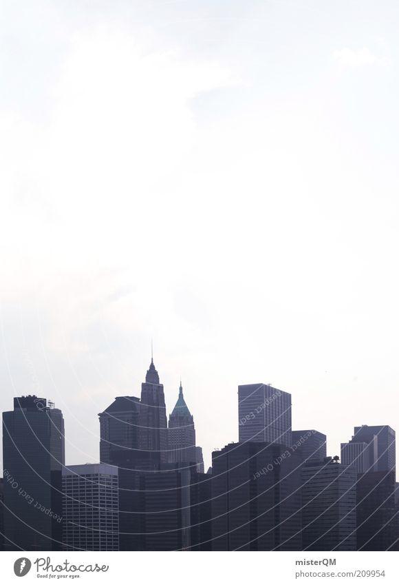 Kompensation? Himmel Stadt Haus Business ästhetisch Hochhaus Wachstum Bankgebäude Skyline Gesellschaft (Soziologie) Etage Wirtschaft Handel Aktien