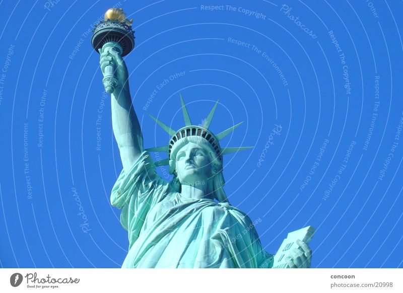 Liberty Enlightening the World Freiheit USA Symbole & Metaphern New York City Nordamerika Neue Welt