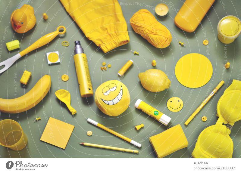 ich seh etwas, was du nicht siehst ... Super Stillleben Krimskrams Dinge Sammlung Anhäufung bunt zusammengewürfelt ansammeln viele Haushalt gelb Inspiration