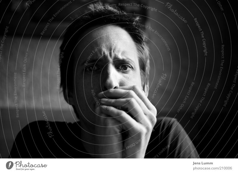 Mr. Brightside Mensch Hand Jugendliche Gesicht Auge Einsamkeit Traurigkeit Haut Erwachsene maskulin Trauer Wut Stress Verzweiflung ausdruckslos Ärger