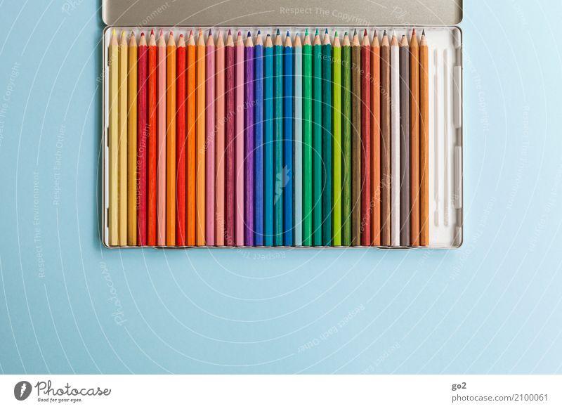 Buntstifte Farbe Kunst Schule Design Freizeit & Hobby Büro Kreativität einzigartig Idee Studium Team Werbebranche Inspiration Arbeitsplatz Kindergarten