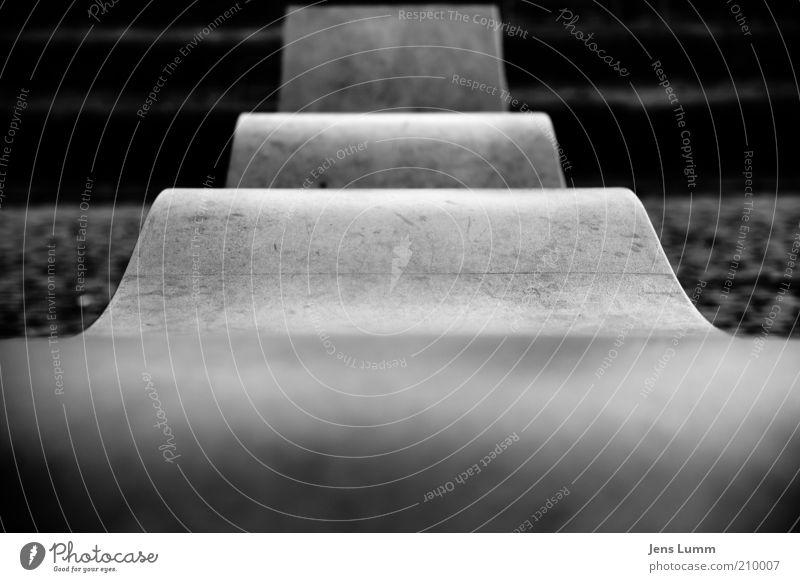 The Bend alt kalt Stein Beton Papier Treppe Plan sparsam Perspektive Wellenform
