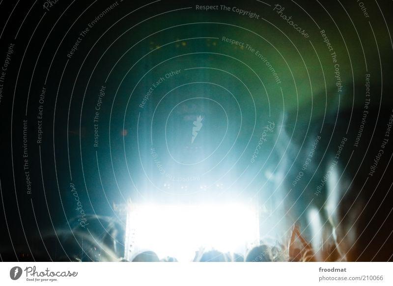 lightroom 2.0 Mensch Freude Bewegung Party Musik Feste & Feiern Tanzen wild Show Disco Mitte Menschenmenge Lebensfreude Bühne Veranstaltung Publikum
