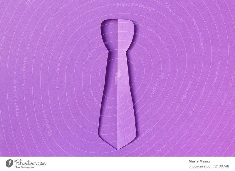 Krawatte Papierschnitt Stil Design Feste & Feiern kaufen außergewöhnlich elegant frech einzigartig modern rebellisch verrückt violett Coolness Erfolg