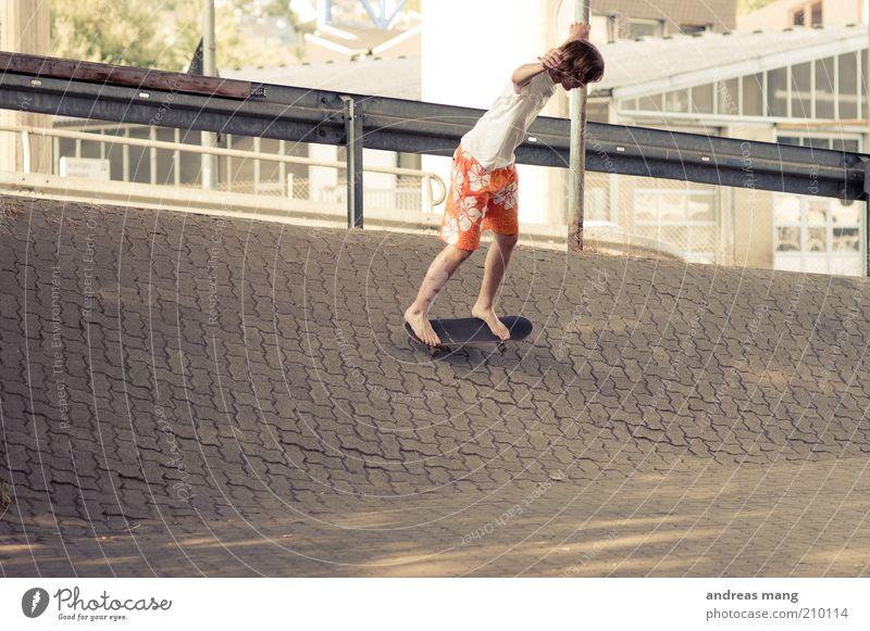 This is where I live | No. 002 Stil Sport Skateboarding Junger Mann Jugendliche Badehose fahren Fitness sportlich frei trendy Stadt Freude Coolness Leidenschaft
