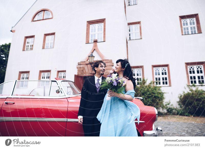 Love is in the air (46) maskulin feminin Frau Erwachsene Mann 2 Mensch 18-30 Jahre Jugendliche 30-45 Jahre Glück Ehe Ehepaar Ehefrau Ehemann Hochzeit