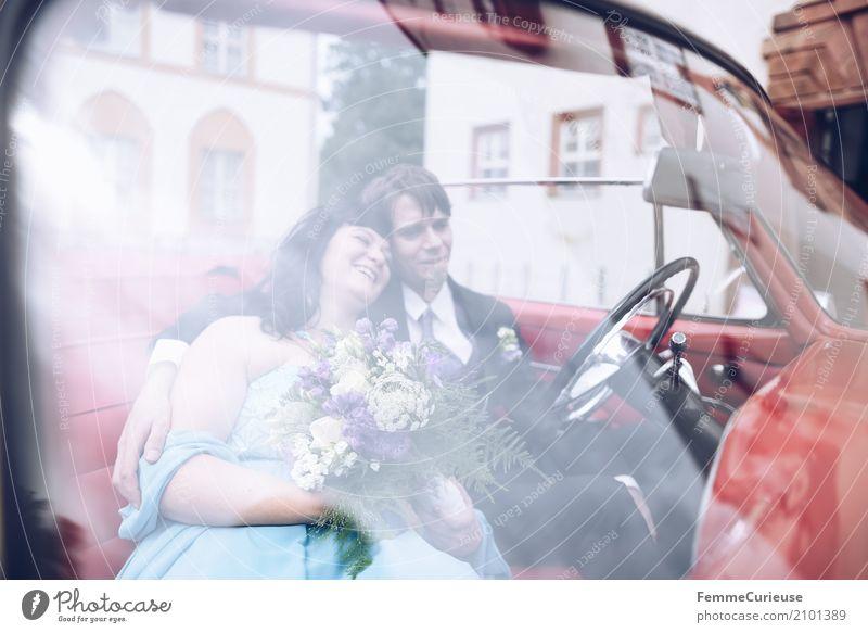 Love is in the air (59) maskulin feminin Frau Erwachsene Mann 2 Mensch 18-30 Jahre Jugendliche 30-45 Jahre Glück Ehe Ehepaar Ehefrau Ehemann Braut Brautkleid