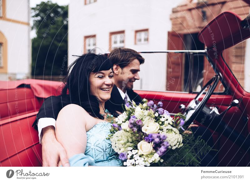 Love is in the air (84) maskulin feminin Frau Erwachsene Mann 2 Mensch 18-30 Jahre Jugendliche 30-45 Jahre Glück Ehe Ehepaar Ehefrau Ehemann Hochzeit