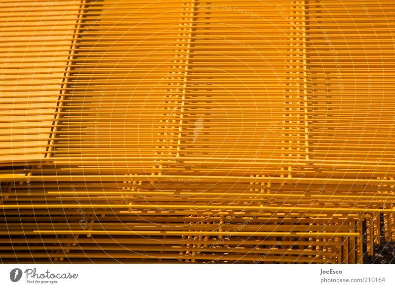 [PC-Usertreffen FFM] #3 gelb Linie Industrie Baustelle Handwerk Zaun Barriere Stapel Gitter Bildausschnitt industriell eingezäunt Gitternetz Gitterrost