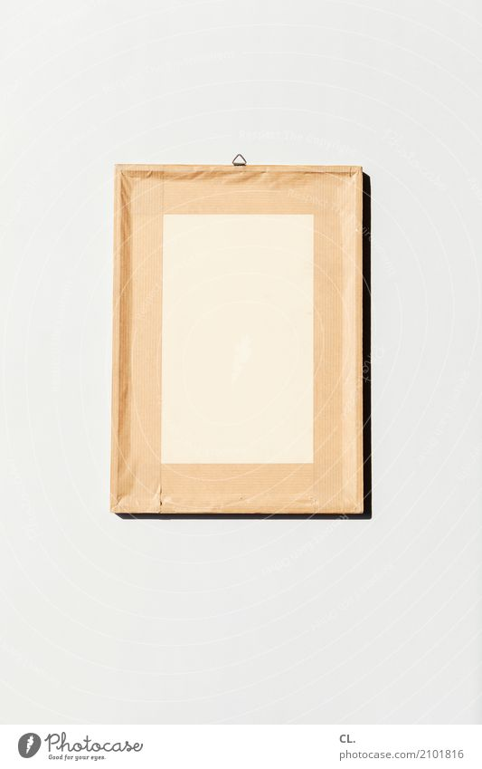 inkje edition / was zur verfügung stand / bild von hinten Kunst außergewöhnlich braun Wohnung Dekoration & Verzierung ästhetisch Kreativität leer Gemälde