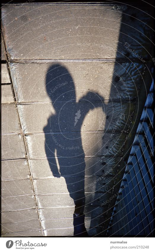 sie kommen . . . Mensch Leben dunkel Kopf Angst Arme gehen groß Brücke außergewöhnlich lang Zeichen Lebewesen Kontakt Glaube Schönes Wetter