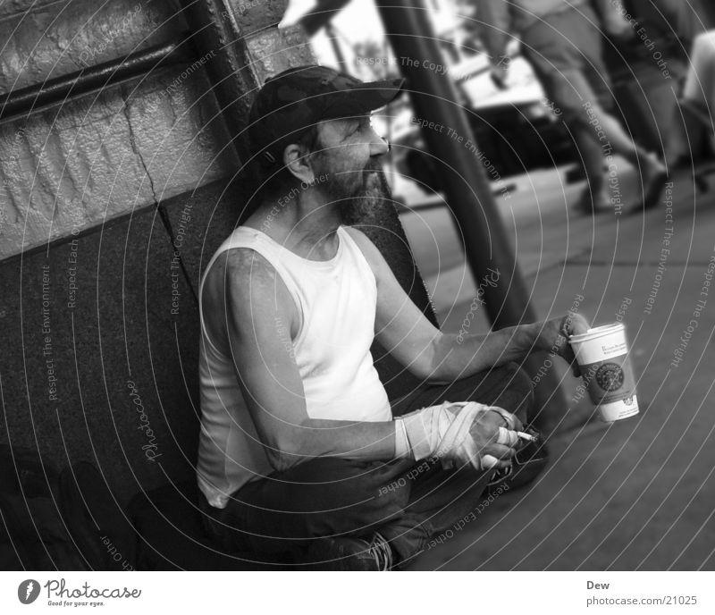 Penner Obdachlose Mann