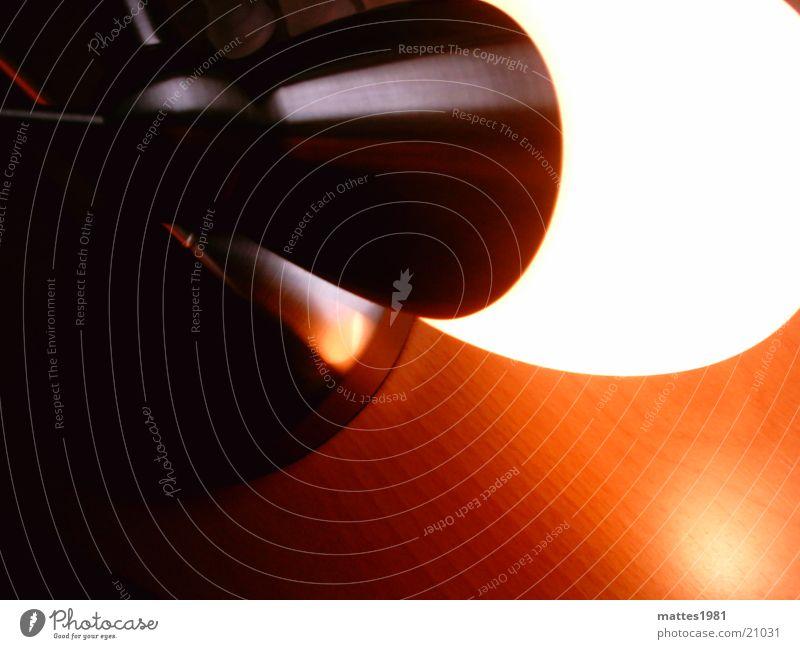 Meister Lampe Aluminium Entertainment Wärme Schreibtisch orange Metall