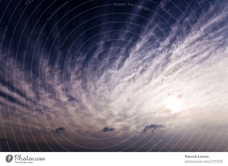 Goodbye Blue Sky Umwelt Natur Landschaft Urelemente Luft Himmel Wolken Gewitterwolken Sonne Klima Klimawandel Wetter Unwetter Wind Sturm leuchten blau intensiv