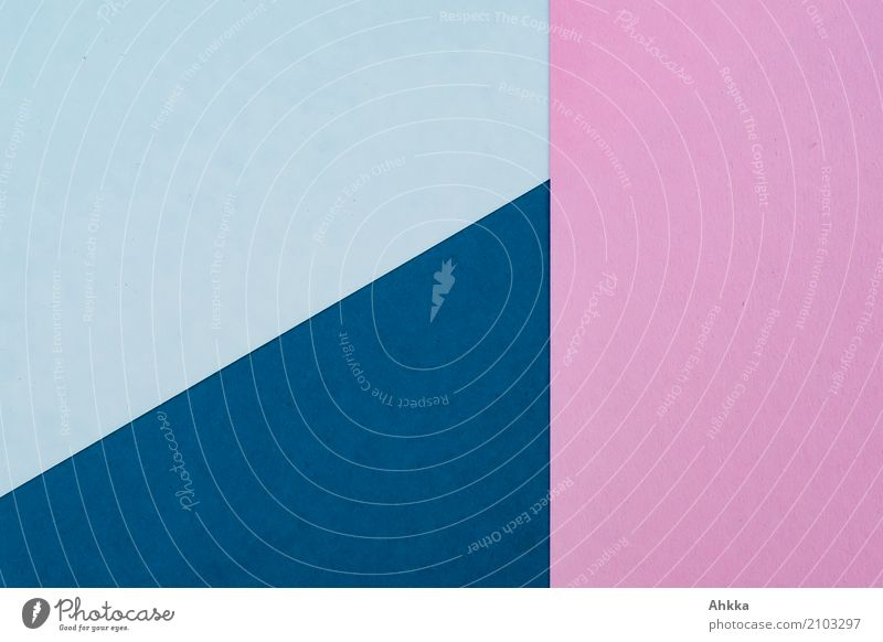 Hintergrundbild Schreibwaren Papier Zettel Linie blau rosa weiß Farbe neutral Strukturen & Formen Farbfoto Nahaufnahme abstrakt Muster Menschenleer