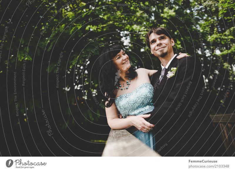 Love is in the air (21) maskulin feminin Frau Erwachsene Mann Mensch 18-30 Jahre Jugendliche 30-45 Jahre Glück Ehe Ehepaar Hochzeit Hochzeitspaar Braut