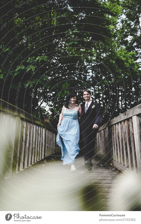 Love is in the air (37) maskulin feminin Frau Erwachsene Mann 2 Mensch 18-30 Jahre Jugendliche 30-45 Jahre Liebe Ehe Ehepaar Ehefrau Ehemann Hochzeit