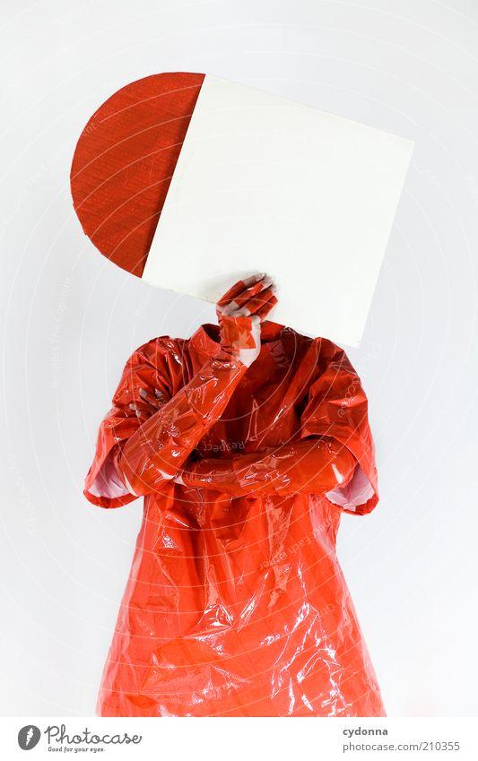 C[_] Mensch weiß rot Leben Stil Musik orange Kunst Mode Design verrückt Lifestyle Coolness Wandel & Veränderung einzigartig