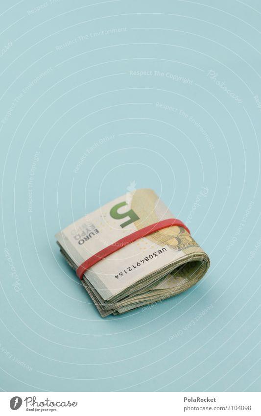 #AS# Taschengeld I Kunst kaufen Geld Geldinstitut Handel 5 Kunstwerk Geldscheine sparen Euro Kapitalwirtschaft Bündel Einkommen Mafia Kapitalismus Geldgeschenk