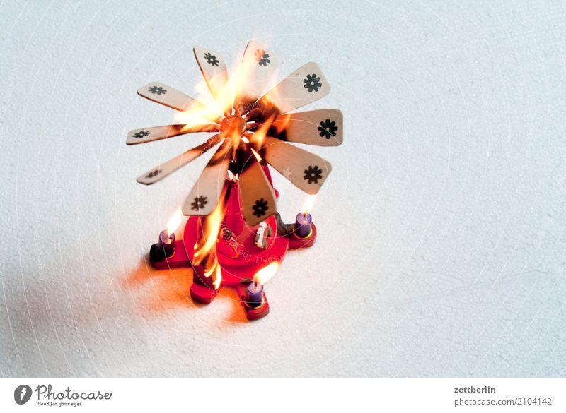 Advent, Advent, ein Lichtlein brennt Respekt Weihnachten & Advent Feuer Brand Brandasche brennen Dekoration & Verzierung drechseln Feuerwehr Feuerwehrmann