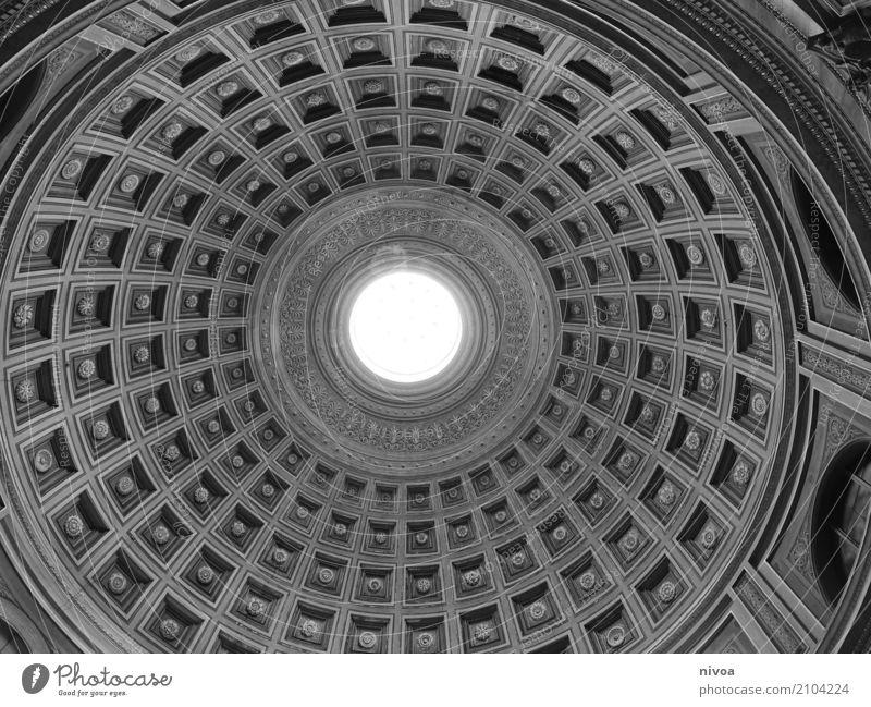Kuppel Ferien & Urlaub & Reisen Tourismus Ausflug Sightseeing Städtereise Ausstellung Museum Architektur Rom Vatikan Italien Hauptstadt Menschenleer Bauwerk